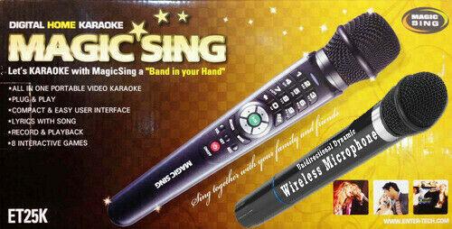 MAGIC SING TAGALOG ENGLISH ET23PRO BUNDLE WITH POP 793 SONGCHIP KARAOKE BAR MOST POPULAR COLLECTION