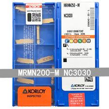 Carus Tool KORLOY SEHT1204AFSN-X45 PC230 Carbide Inserts CNC Tool 10Pcs//Box