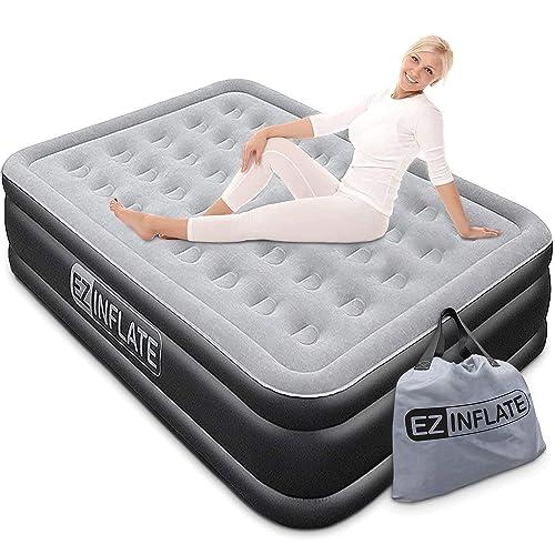 Pump Queen Size Inflatable Mattress, Air Bed Queen Size Mattress