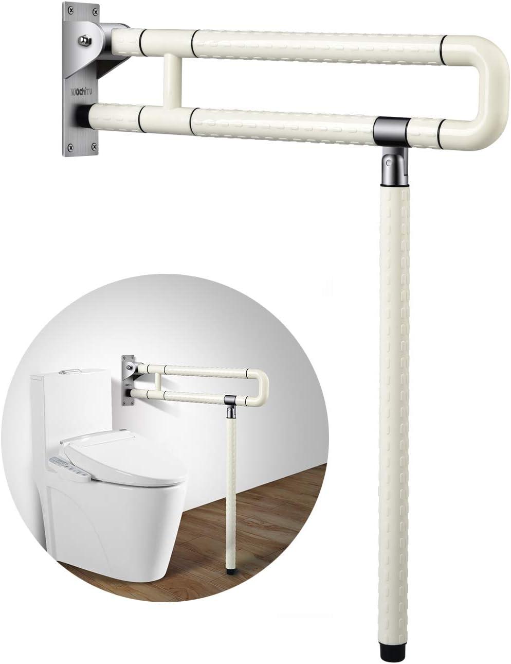 Bathroom Toilet Safety Rails, Bathroom Handicap Rails